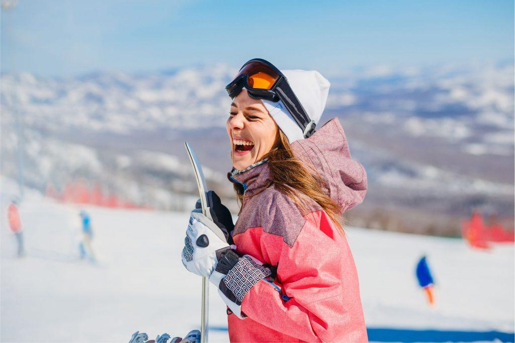 Bessmann Skiwelt Wintersport Snowboard Marienfeld Skier Skibrille Skihelm
